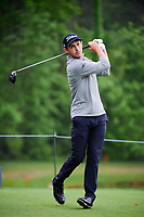 Patrick Cantlay (USA) watches his tee shot on 7 during round 4 of the Shell Houston Open, Golf Club of Houston, Houston, Texas, USA. 4/2/2017.<br /> Picture: Golffile | Ken Murray<br /> <br /> <br /> All photo usage must carry mandatory copyright credit (&copy; Golffile | Ken Murray)