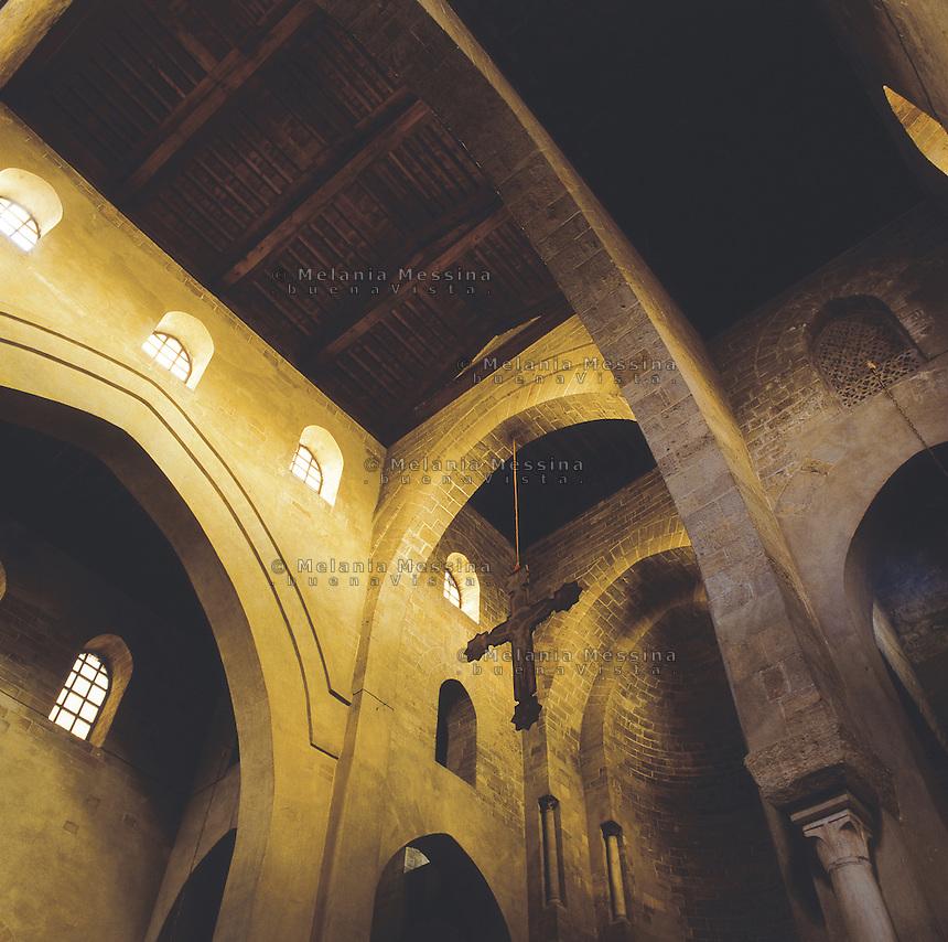 Palermo, Magione basilica,12th century.<br /> Palermo, basilica della Magione, XII sec.
