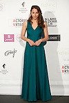 Spanish actress Irene Escolar attends the `Union de actores Awards´ ceremony in Madrid, Spain. March 14, 2016. (ALTERPHOTOS/Victor Blanco)