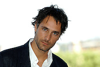 "RAOUL BOVA.Photcall for the film ""Io, l'altro"", Campidoglio, Rome, Italy..May 10th, 2007.headshot portrait .CAP/CAV.©Luca Cavallari/Capital Pictures"