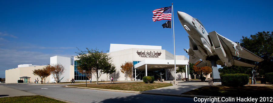 The National Naval Aviation Museum in Pensacola has more than 150 restored aircraft on display.<br /> <br /> COLIN HACKLEY PHOTO