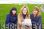 FASHION FANTASTIC: A Fashion show is being held at Ballybunion Golf Club House as a fundraiser in aid of Ballybunion Health and Leisure Centre on Saturday 1st of December. Pictured were: Aileen McKenna, Kieran Kennelly and Sinead O'Hanlon Linda O'Regan, Judy Collins and Frances Smith from the Ballyheigue Defibrillator group are launching a CD and having a concert to raise funds.