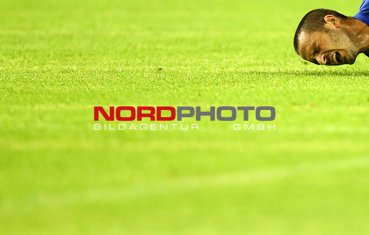 12.06.2015., Croatia, stadium Poljud, Split - Qualifying match for the European Championship to be held in 2016 in France, Group H, Round 6, Croatia - Italy. Leonard Bonucci. <br />                                                                                                    Foto &copy;  nph / PIXSELL / Slavko Midzor;