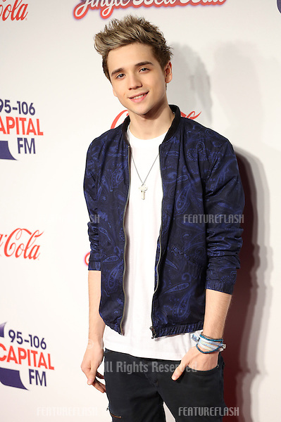 Elyar Fox at the Capital FM Jingle Bell Ball 2013 held at the O2 arena - Arrivals, London. 07/12/2013 Picture by: Henry Harris / Featureflash