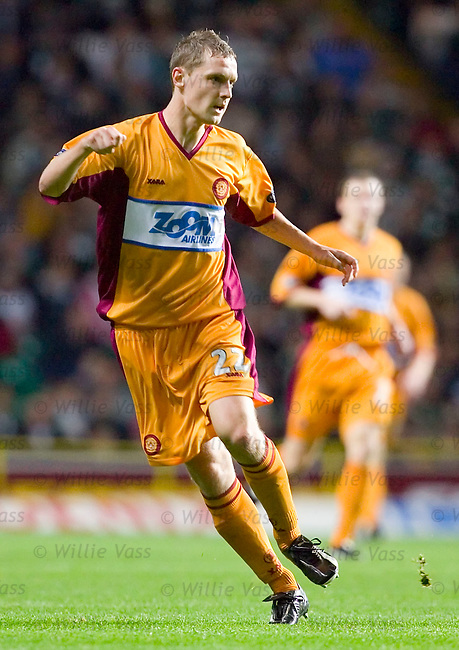 William Kinniburgh, Motherwell.stock season 2005-2006.pic willie vass