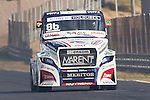 Czech driver Jiri Forman belonging Czech team Buggyra International Racing System during the super pole SP2 of the XXX Spain GP Camion of the FIA European Truck Racing Championship 2016 in Madrid. October 02, 2016. (ALTERPHOTOS/Rodrigo Jimenez)