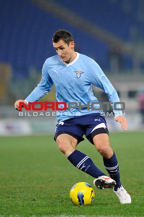 Klose Miroslav (Lazio). Roma 18/12/2011, Stadio Olimpico, Football Calcio Serie A 2011/2012, Lazio Vs Udinese.<br /> Foto &copy; nph /  sportmedia<br /> ***** Attention only for GER, CRO, SUI *****