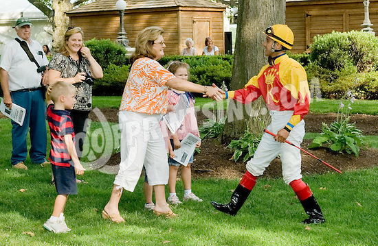 Wycked before The Dr. Sam Harrison Juvenile Arabian Stakes at Delaware Park on 7/4/12