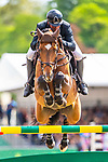 Day 5. Royal Windsor Horse Show. Windsor. Berkshire. UK.Rolex Grand Prix.CSI5*. Guy Williams riding Rouge De Ravel. GBR. 13/05/2018. ~ MANDATORY Credit Elli  Birch/Sportinpictures - NO UNAUTHORISED USE - 07837 394578