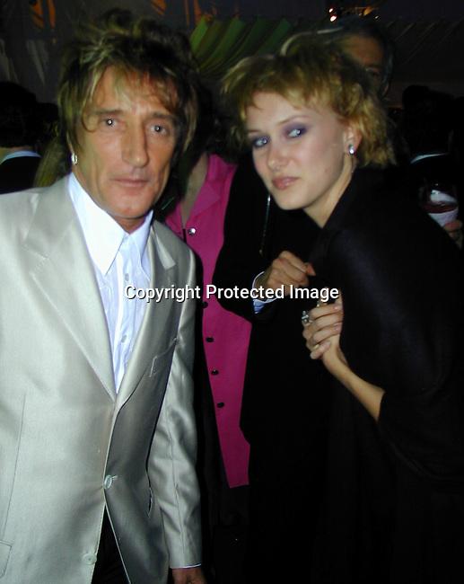 Rod &amp; Kimberly Stewart<br />2000 Vanity Fair Post Oscar Party<br />Morton's Restaurant<br />Los Angeles, California, USA<br />March 26, 2000<br />Photo by Celebrityvibe.com