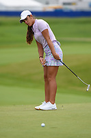 Maria Fassi (MEX) watches her putt on 2 during the round 2 of the KPMG Women's PGA Championship, Hazeltine National, Chaska, Minnesota, USA. 6/21/2019.<br /> Picture: Golffile | Ken Murray<br /> <br /> <br /> All photo usage must carry mandatory copyright credit (© Golffile | Ken Murray)
