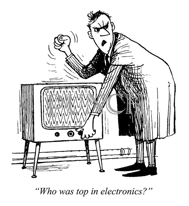 """Boffins for Britain. """"Who was top in electronics?"""""""
