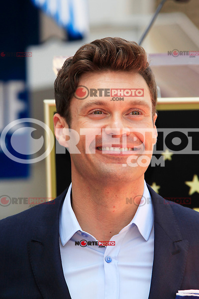 Ellen K is honored with the 2471st star on the Hollywood Walk of Fame. Los Angeles, California on 10.05.2012. PICTURED: Ryan Seacrest..Credit: Martin Smith/face to face /MediaPunch Inc. ***FOR USA ONLY***