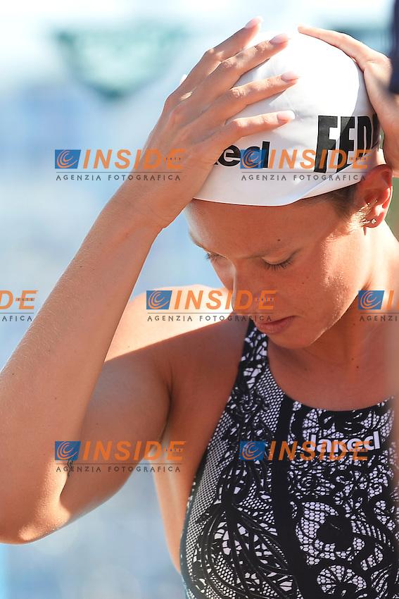 Federica Pellegrini <br /> Roma 12/6/2013 Piscina del Foro Italico <br /> Nuoto 50mo trofeo Settecolli<br /> Settecolli 50th International swimming trophy <br /> Foto Andrea Staccioli Insidefoto