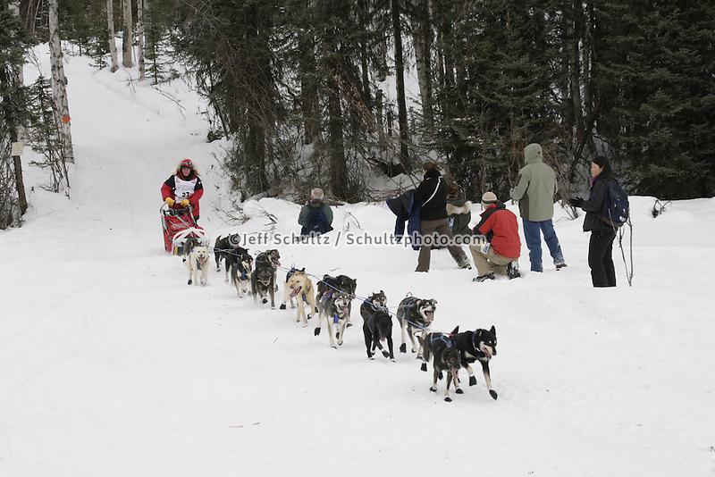 Sue Allen Willow restart Iditarod 2008.
