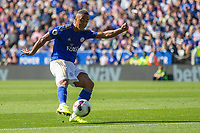 Youri Tielemans during the Premier League match between Leicester City and Tottenham Hotspur at the King Power Stadium, Leicester, England on 21 September 2019. Photo by James  Gill / PRiME Media Images.