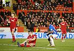 06.02.2019 Aberdeen v Rangers: Alfredo Morelos scores