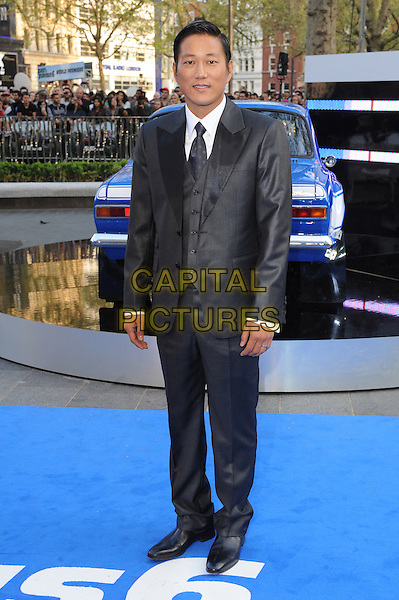 Ssung Kang .at 'Fast & Furious 6' world film premiere, Empire cinema, Leicester Square, London, England 7th May 2013 .CAP/BEL.©Tom Belcher/Capital Pictures
