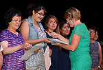 Instructor Specialist Jody Coxon honors National Adult Education Honor Society recipients as more than 100 students receive their High School Equivalency during a Western Nevada College ceremony in Carson City, Nev., on Monday, June 19, 2017. <br /> Photo by Cathleen Allison/Nevada Photo Source