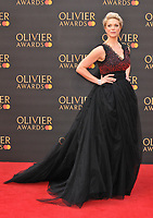 Hannah Waddingham at the Olivier Awards 2019, Royal Albert Hall, Kensington Gore, London, England, UK, on Sunday 07th April 2019.<br /> CAP/CAN<br /> ©CAN/Capital Pictures