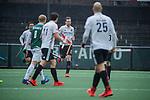 AMSTELVEEN - Mirco Pruyser (Adam)scoort tegen keeper Mark Ingram (R'dam)  met een strafbal,  tijdens de hoofdklasse competitiewedstrijd heren, AMSTERDAM-ROTTERDAM (2-2). COPYRIGHT KOEN SUYK
