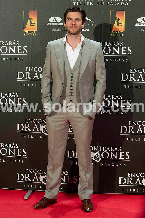 **ALL ROUND PICTURES FROM SOLARPIX.COM**                                             **WORLDWIDE SYNDICATION RIGHTS EXCEPT SPAIN - NO SYNDICATION IN SPAIN**                                                                                  Caption: attends There Be Dragons (Encontraras Dragones) premiere at Capitol cinema in Madrid, Spain. March 23, 2011                                                                    This pic:  Wes Bentley                                                                              JOB REF: 13018 DMS       DATE: 23_03_2011                                                           **MUST CREDIT SOLARPIX.COM OR DOUBLE FEE WILL BE CHARGED**                                                                      **MUST AGREE FEE BEFORE ONLINE USAGE**                               **CALL US ON: +34 952 811 768 or LOW RATE FROM UK 0844 617 7637**
