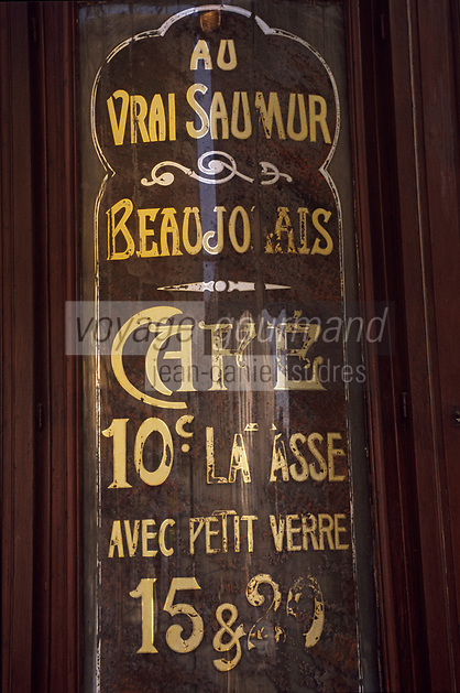 """Europe/France/Ile-de-France/Paris: """"BELLE-EPOQUE"""" - Bar """"La Palette Bastille"""" avenue Ledru Rollin<br /> PHOTO D'ARCHIVES // ARCHIVAL IMAGES<br /> FRANCE 1990"""
