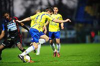 VOETBAL: LEEUWARDEN: Cambuur Stadion, 27-04-2012, SC Cambuur - Telstar, Jupiler League, Eindstand 3-1, Erik Bakker (#6 Cambuur), ©foto Martin de Jong