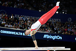 Commonwealth Games Gymnastics Individual Apparatus  Finals 1.8.14 .Photos by Alan Edwards.www.f2images.com