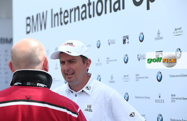 Superb 67 from Peter Lawrie (IRL) during Round Two of the 2015 BMW International Open at Golfclub Munchen Eichenried, Eichenried, Munich, Germany. 26/06/2015. Picture David Lloyd | www.golffile.ie