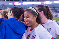 , FL - : Margaret Purce #30 of the United States stands in the huddle during a game between  at  on ,  in , Florida.