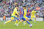06.05.2017 Barcelona. La Liga game 31. picture show Luis Suarez in action during game between FC Barcelona against Villarreal at Camp Nou