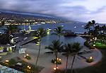 Kailua Kona at dusk