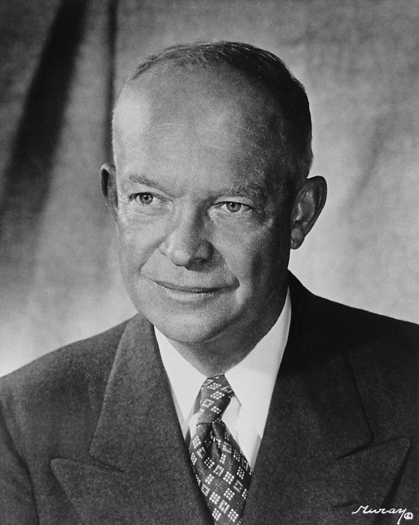 President Dwight D. Eisenhower, National Achieves, in December 1952. (Photo by CQ Roll Call via Getty Images)