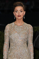 "NEW YORK CITY, NY, USA - MAY 05: Amber Heard at the ""Charles James: Beyond Fashion"" Costume Institute Gala held at the Metropolitan Museum of Art on May 5, 2014 in New York City, New York, United States. (Photo by Xavier Collin/Celebrity Monitor)"