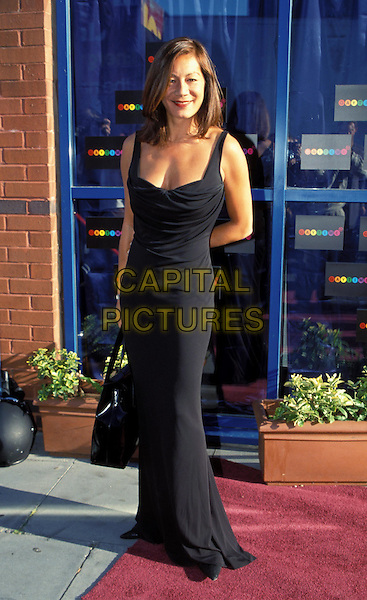 ANNA RYDER RICHARDSON..Ref: 8699..black dress, full length..sales@capitalpictures.com..www.capitalpictures.com