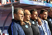 June 19th 2017, Kielce, Poland; UEFA European U-21 football championships, England versus Slovakia; Slovak coach Pavel Hapal (SLO)