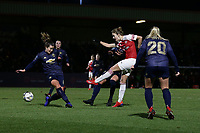 Vivianne Miedema of Arsenal goes close during Arsenal Women vs Manchester United Women, FA WSL Continental Tyres Cup Football at Meadow Park on 7th February 2019