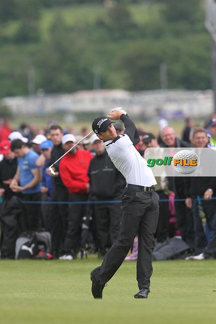 Estanislao Goya (ARG) on the 17th on Day 4 of the 2012 Irish Open at Royal Portrush Golf Club, Portrush, Co.Antrim, 1/7/12...(Photo Jenny Matthews/www.golffile.ie)