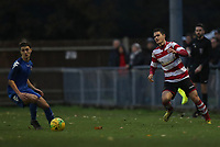Fabio Saraiva of Kingstonian plays the ball across field during Kingstonian vs Lewes, BetVictor League Premier Division Football at King George's Field on 16th November 2019