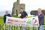 TAGGED: Announcing details on Friday of the second annual Tag Rugby competition in Ballybunion later this month, l-r: Paul O'Dowd (Listowel Rugby Club), Roy Sexton, Greg Ryan (McMunn's Bar).