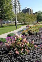 Centennial Park floral garden