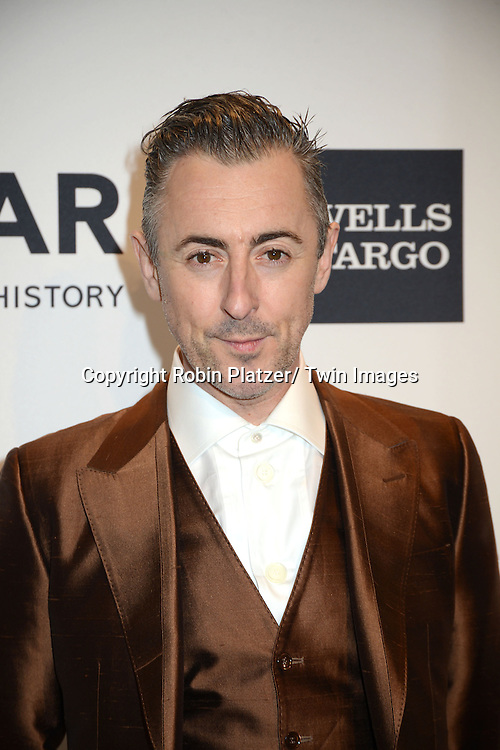 Alan Cumming attends the amfAR New York Gala on February 5, 2014 at Cipriani Wall Street in New York City.