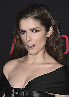 "HOLLYWOOD, CA - OCTOBER 10:  Anna Kendrick at the Los Angeles world premiere of ""The Accountant"" at TCL Chinese Theater on October 10, 2016 in Hollywood, California. Credit: mpi991/MediaPunch"