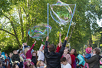 Soap Bubble flashmob May 2019