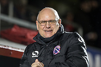John Still manager of Dagenham & Redbridge during the Sky Bet League 2 match between Dagenham and Redbridge and Wycombe Wanderers at the London Borough of Barking and Dagenham Stadium, London, England on 9 February 2016. Photo by Andy Rowland.