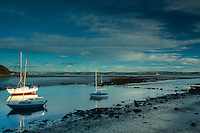 Cramond Harbour and the River Almond, Lothian