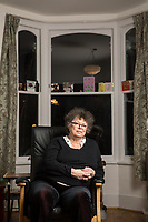 Sue Crockford photographed at her home in North London . Sue Crockford was a member of the first Tufnell Park Women's Liberation group, set up in 1968. She was also co-organiser of a radical film collective, Angry Arts, which made a unique record of the 1970 Women's Liberation Conference in the film A Woman's Place. The first four WLM demands that you can read about in the introduction to this section emerged out of the 1970 conference, and were passed the following year in Skegness.