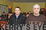 MEETING: Dan Lynch, Kilgarvan who chaired the Public Meeting on the Sale of the Presbytery in Kilgarvan on Wednesday last, February 1st, pictured here with Thomas O'Reilly (sec).