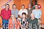 Cait Looney celebrates her 50th birthday with her family in Darby O'Gills Killarney on Sunday front row l-r: Hannah Mary, Cait, Dan Looney. Back row: Mike, Tim, James, Donie and John Looney..
